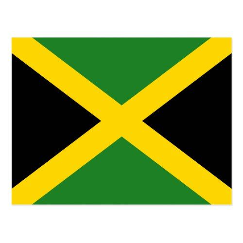 Jamaica Flag Postcard Zazzle Com Jamaica Flag Jamaican Flag Jamaica