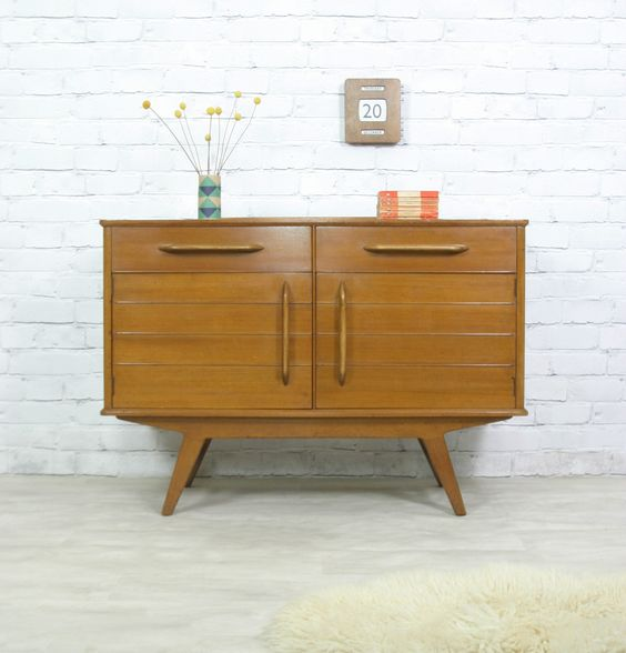g plan retro vintage teak mid century danish style sideboard eames era 50s 60s ebay tables. Black Bedroom Furniture Sets. Home Design Ideas