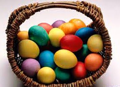 """Se virando sem grana: Como fazer: """"Ovos coloridos de Páscoa"""""""