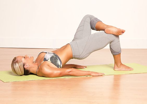 Yoga moves for a great butt!  #
