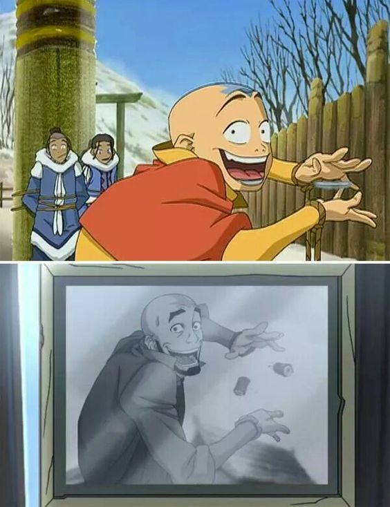 Some things never change. Avatar: the Last Airbender