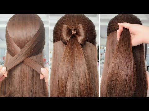 Simple Hairstyles For Everyday Hair Tutorials Youtube Easy Everyday Hairstyles Long Hair Tutorial Easy Hairstyles