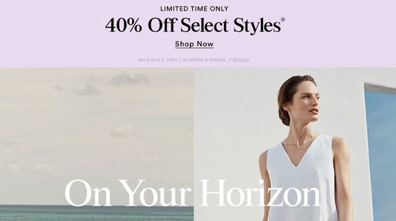 Additional 40% Off Already-Reduced Sale Styles + Full-Price Dresses & Tops Shop from ‪#‎USA‬ only through #Ishopinternational