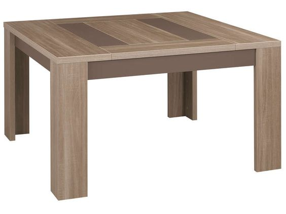 Table Carree 130 Cm Atlanta Pas Cher Table Conforama Meuble Table Carree Meuble Cuisine