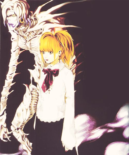 death note misa and rem - photo #19