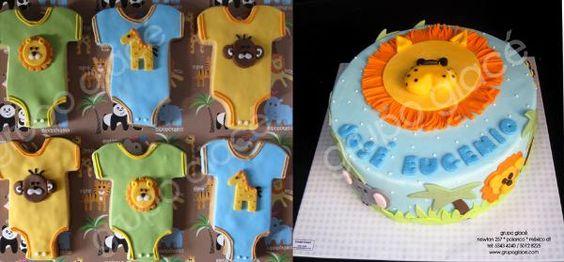 pasteles para babyshowers Grupo Glacé