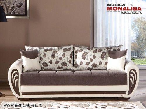 Canapea Extensibila 3 Locuri Marina Espresso Sofa Bed Design Living Room Sofa Design Luxury Sofa Design