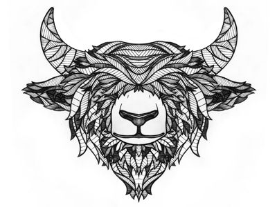 Yak Illustration