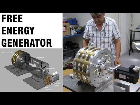 Electromagnetic Generator 10 Kw Free Energy Device Youtube Free Energy Generator Free Energy Energy