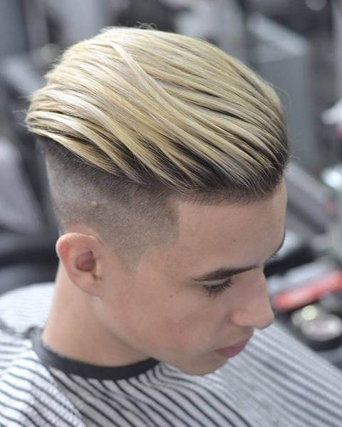 101 Short Back Sides Long On Top Haircuts To Show Your Barber In 2018 Hairstyles Haircuts Fade Haircut Short Hair Styles
