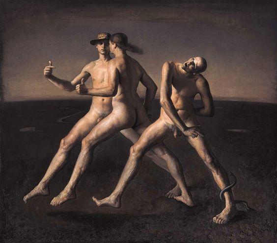 """El surrealismo """"rembrandtiano"""" de Odd Nerdrum"""