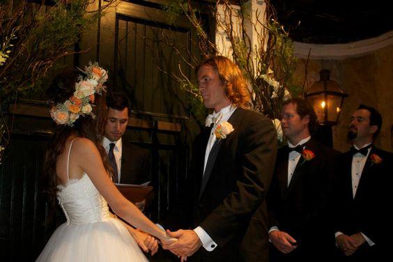 Kate Voegele and Brett Hughes marry
