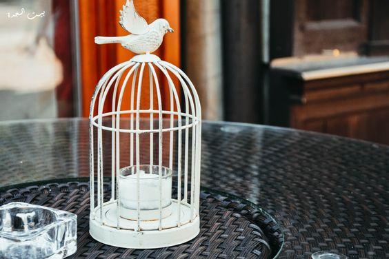 قفص عصافير روعه لتزيين منزلك اعادة تدوير هدية من ماما فيفي بيـت الـجدة Bird Supplies Unique Items Products The Caged Bird Sings
