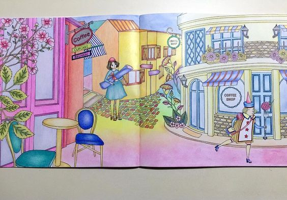 #adultcoloringbook #amilyshen#奇幻夢境