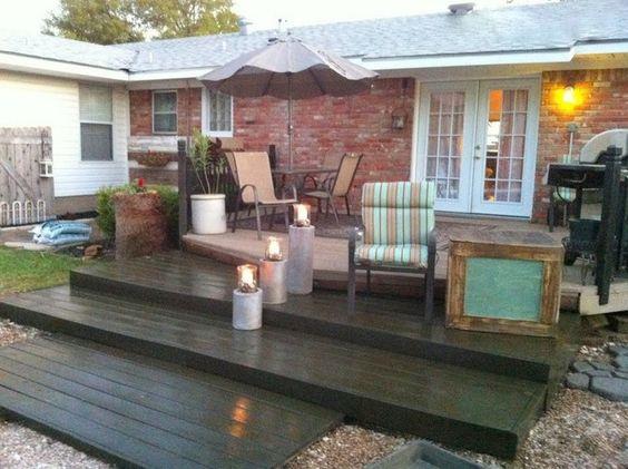 Recycled Pallet Wood Decks