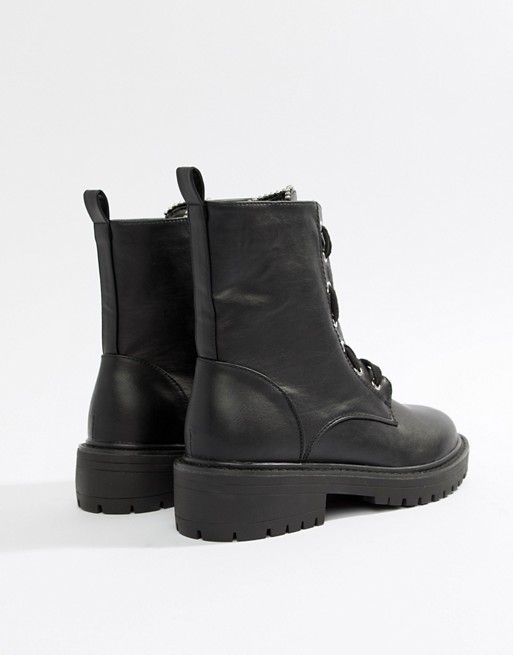 Lost Ink Jazz Black Utility Boots