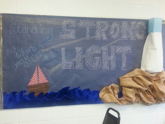 Teen Bulletin Board- Standing Strong so others may see the Light.