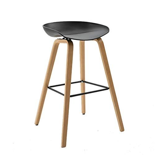 Lightyears Ym Bar Stools Solid Wood High Stools Modern Minimalist Creative Cafe Bar Bar Stools Modern Bar Stool Design Stools For Kitchen Island Kitchen Stools