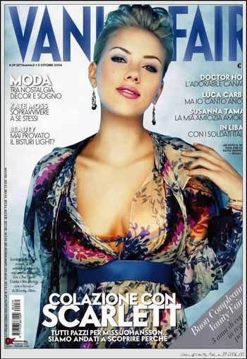 Vanity fair - Scarlett Johansson