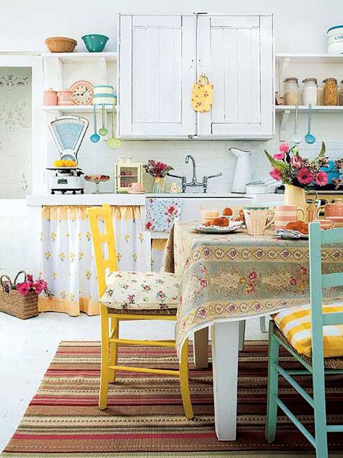 colorful kitchens | ... and Colorful Kitchen Design Ideas ...
