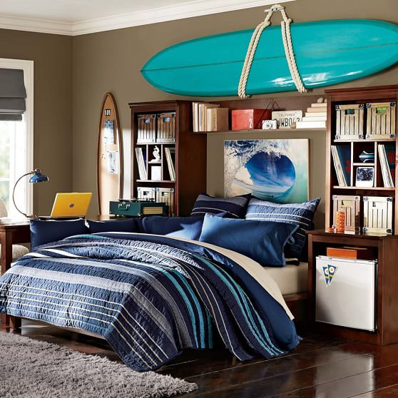 Surfing Bedroom Decor