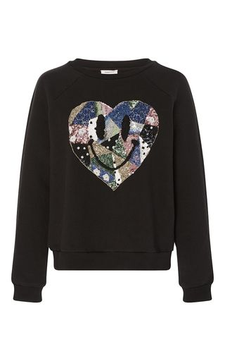 Long Sleeve Heart Pullover by MANOUSH for Preorder on Moda Operandi
