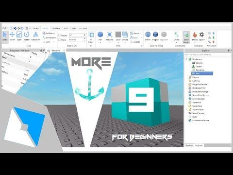 Roblox Tutorial More 9 Things For Roblox Studio Beginners