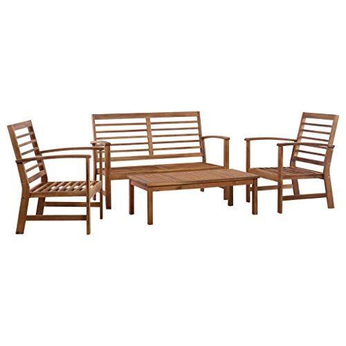 Festnight Mobilier De Salle A Manger D Exterieur Table Et Chaises A Diner Salon De Jardin Salon De Jardin In 2020 Garden Sofa Set Garden Sofa Patio Furniture Sets