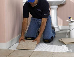 How To Install Floor Tile Tips And Tricks For Installing Tile In Your Home Skill Level Beginner