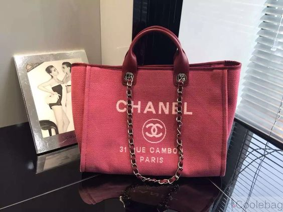 mens birkin bag - Chanel Deauville Canvas Large Tote Bag Red 2015 | Chanel handbags ...