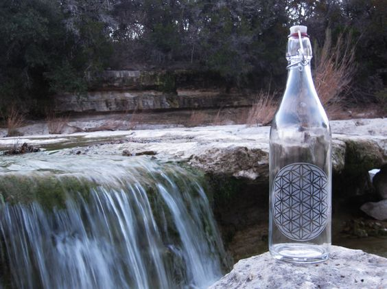 Flower of Life by the falls