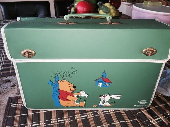 Walt Disney Winnie the Pooh vintage book bag