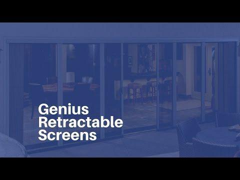 Video Gallery Genius Retractable Screens Retractable Screen