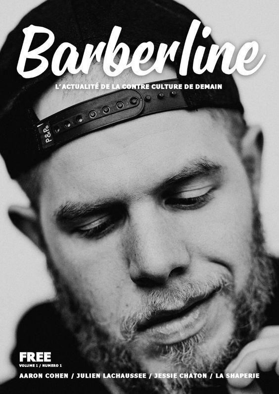 BARBERLINE MAGAZINE #01  BARBERLINE MAGAZINE, c'est 84 pages de contre-culture, d'interviews (Rasoir, Barbe de 3 jours, Exclusive), la découverte d'un Barbershop hors du commun et sans oublier nos rubriques Back To The Movie, Gnole, Shooting et beaucoup d'autres... BARBERLINE est un magazine gratuit qui sera distribué dans les Shops, Barbershops et Salons de Tatouages de la Capitale et d'ailleurs.