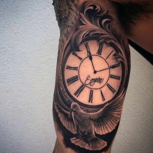 125 Best Inner Bicep Tattoos For Men Cool Ideas Designs 2020 Guide Bicep Tattoo Inner Bicep Tattoo Bicep Tattoo Men