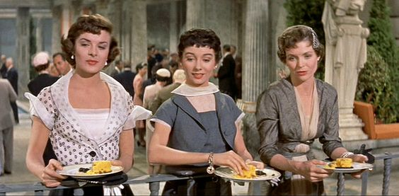 Three Coins in the Fountain /1954/ Jean Peters, Maggie McNamara and Dorothy Maguire in a scenic romantic drama.