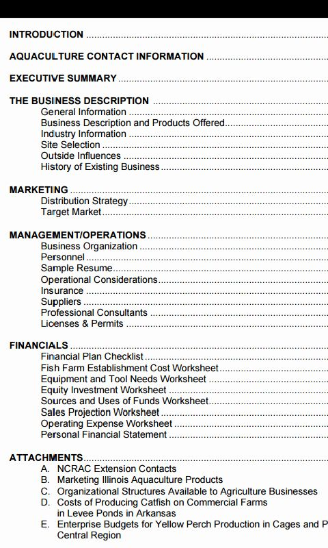 Small Farm Business Plan Template Fresh How To Write An Agric
