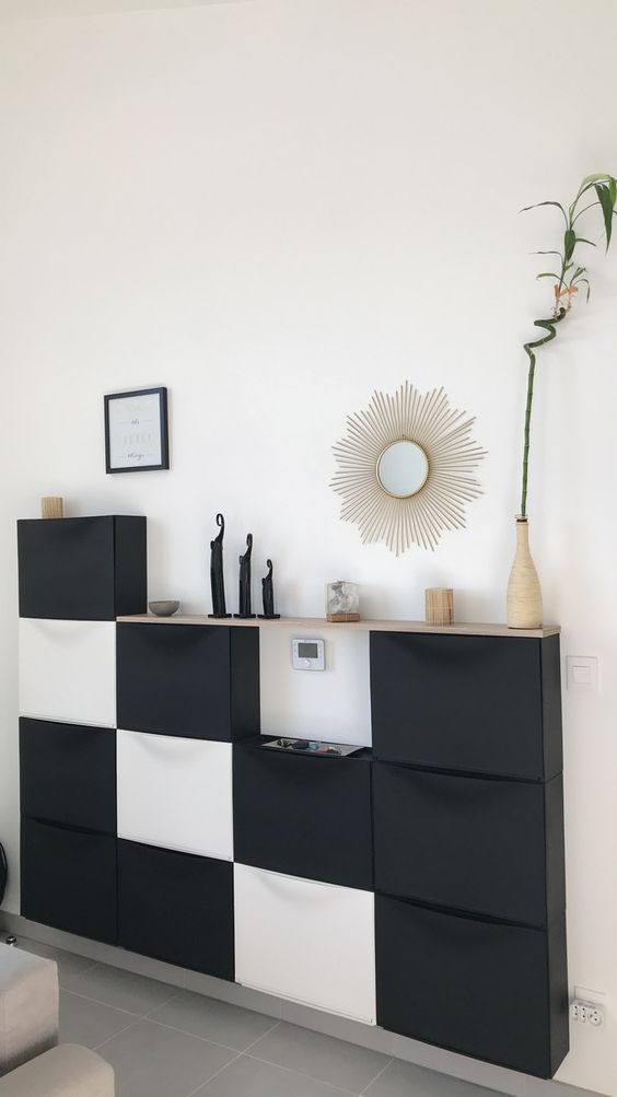 30 Cool Ways To Use And Hack Ikea Trones Schuhregal Ikea Wohnung