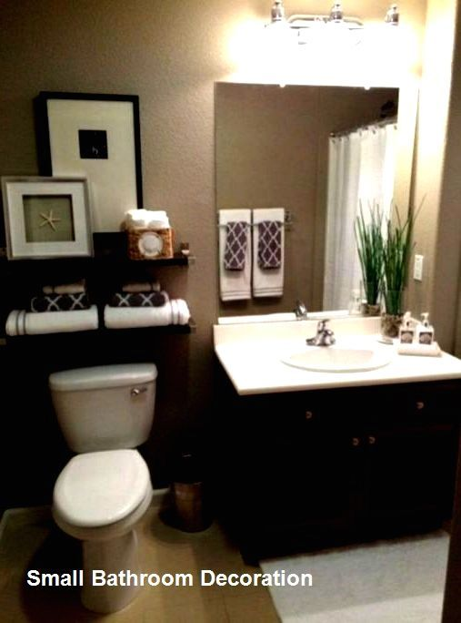 Home Decor Kitchen Cozy Small Bathroom Decor Ideas Bathroomdecoration Bathroomdesign Home D In 2020 Small Apartment Bathroom Simple Bathroom Decor Diy Bathroom Decor