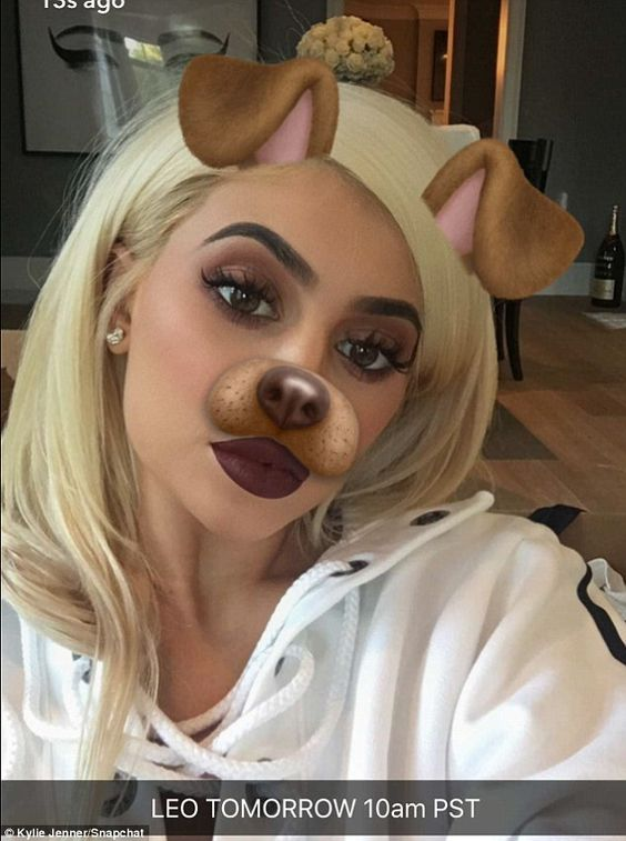 Leo: The reality star told her fans via social media that her lip line, Leo, is ready for free shipping on Thursday at 10 a.m. Pacific for 24 hours