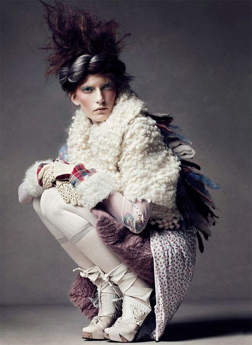 Fashion Ensemble - fashion editorial, Caroline Munro