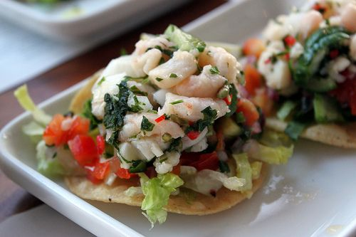 Wahaca, Ceviche and Scallop ceviche on Pinterest