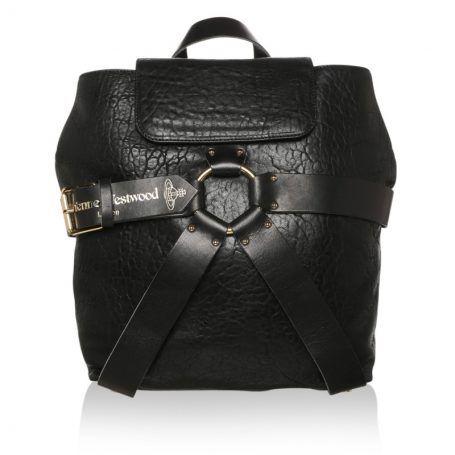 Vivienne Westwood Tasche – VW Bondage Backpack Nero – in…