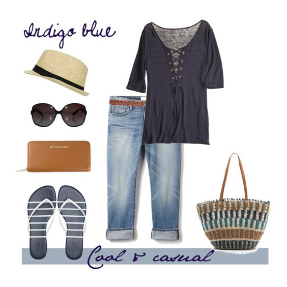 Indigo Blue by Coastal Style Blog