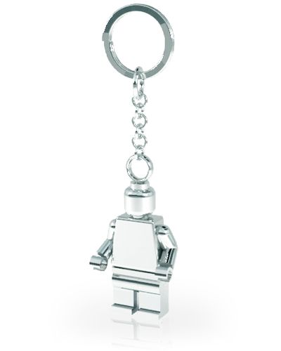 Figurine key-ring in Sterling Silver, more at www.lushchic.co.uk #lego #keyring #men #gifts