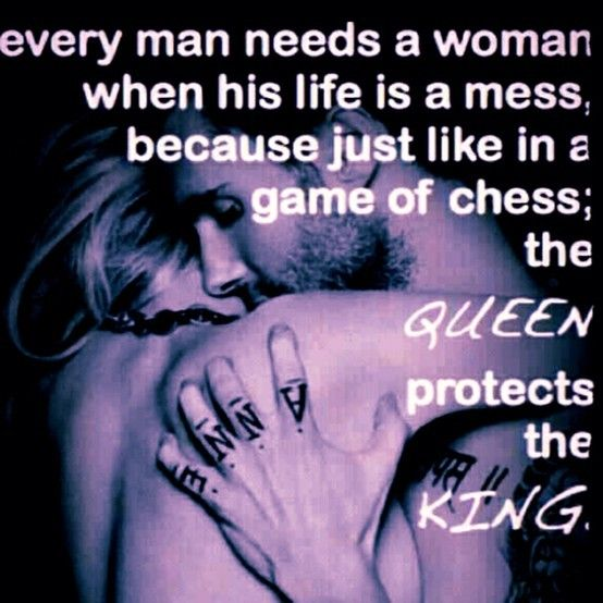 every king needs a queen, I am your queen forever babe...