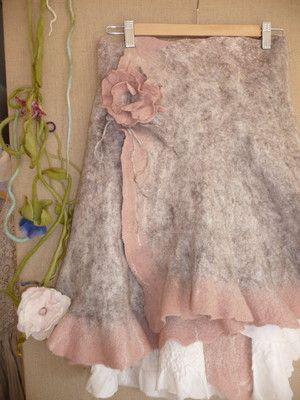 #felted skirt