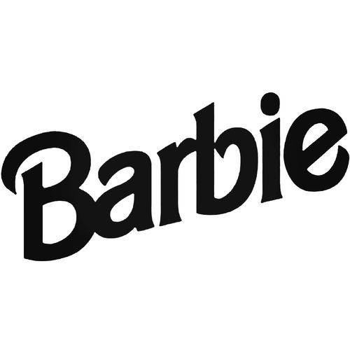 Corporate Logo Decals Barbie Decal Sticker Style 1 Vinyl Decal Sticker Many Size Options And Color Options Industry S Barbie Logo Barbie Vinyl Decal Stickers