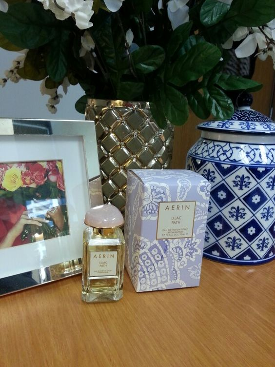 My Aerin Lauder perfume Lilac Blossom.: