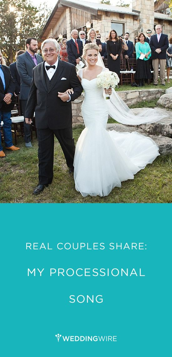 Wedding Processional Song Ideas From Real Couples